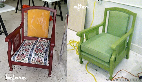 joann before and after - chair