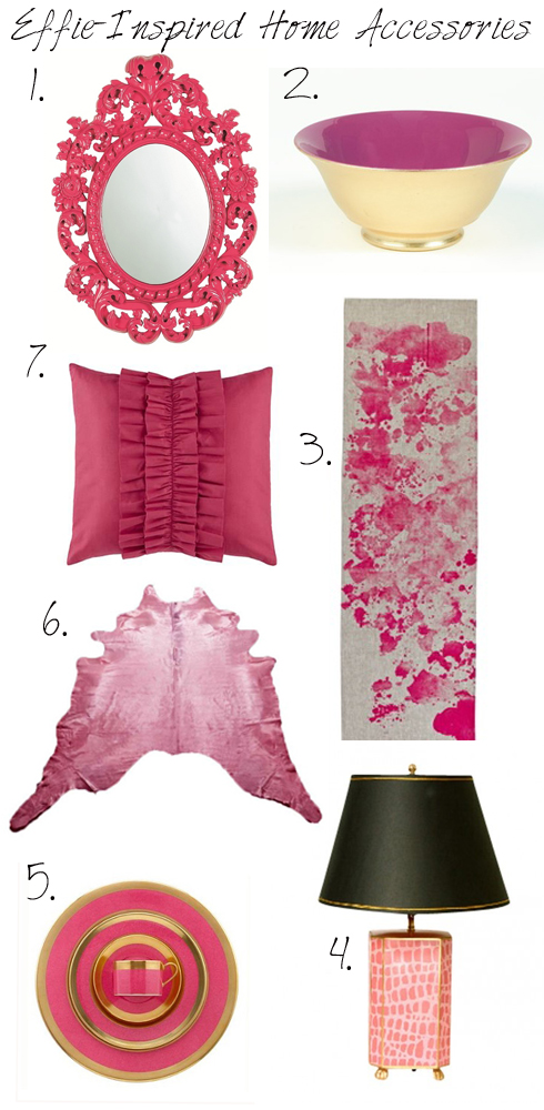 Effie Trinket Home decor