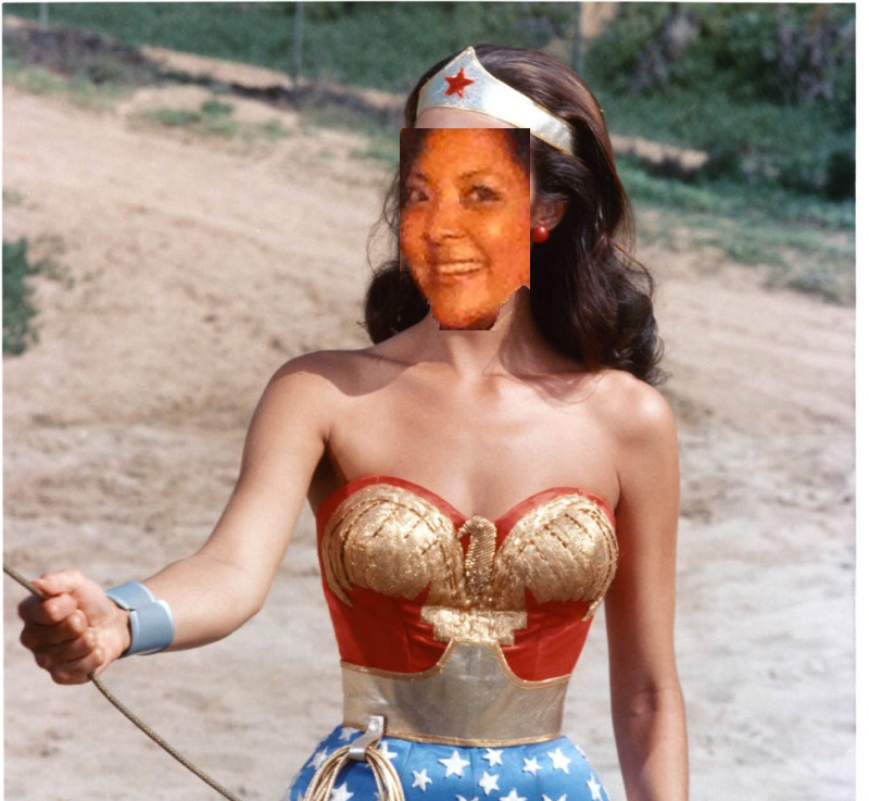 Jen as wonder woman copy
