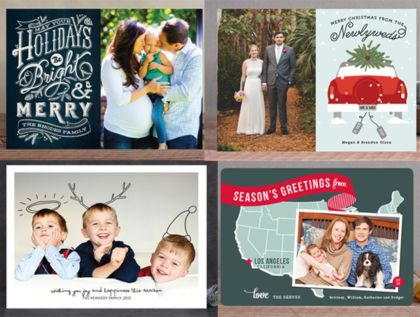 minted - photo holiday card