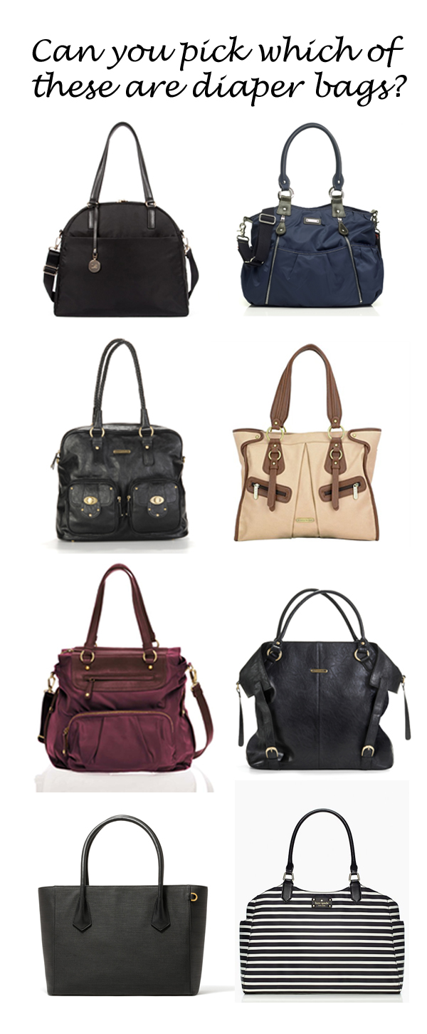 Can you tell which is teh diaper bag copy